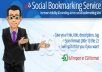 500 social bookmark SEO backlinks + ping in 24 hours