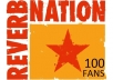 !!provide you 100+ Reverbnation Fans all real fans to improve your ranking on Reverbnation!!