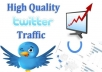 drive UNLIMITED traffic from Twitter to your website for one month