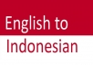 translate English to Indonesian/Bahasa 500 words