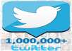 tell you how to get Free 1,000,000 REAL Twitter Followers