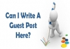 2400+ Blogs Accepting Guest Posts
