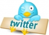 get you 51500+ Real Looking TWITTER Followers follow your twitter account Within 24 to 48 hours without your password...!!!!