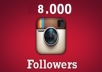 instagram followers 8000+ in 15 Minutes[If Online]