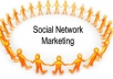 submit your website to 30 social network websites and 25 social bookmark websites within 48 hours