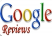 write Real 15 Google reviews for your website, products or service