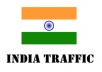 give Unique 3880+ Traffic From India to your Website Adsense Safe Views Get Alexa Rank high