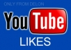 give you 350+ Guaranteed Real Human YouTube Likes to your video