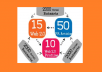 create powerful  seo link wheel for your website using 75 PR3 to PR8 URL and 10,000 blog comments