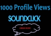 give 1000 Quality Soundclick Views Your Profile help you Get More Fans