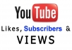 give you 100 Youtube views,100 likes,100 subscribers (100% real)[Fast]andbonus