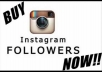 give you 15000+ instagram follower real looking (100%)very fast only in 24hours