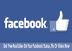 provide 250+ Real  world wide {Permanent} facebook likes or fans to your fan pages and tweet your message to 160,000 Followers 