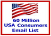 sent 60 Million Email marketing  use for many purposes