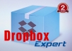 help you to upgrade Dropbox account .....!!!!!