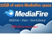 give you a total of 32GB of MEDIAFIRE space with 32 Referral Quick and Quality