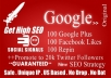 build powerful social SIGNALS from top social sites to boost your seo ..!!!!