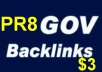 create 10 PR8 DoFollow High PR Gov Backinks To Boost Your Seo Serp In Google 