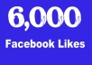 I will add 6000 TopQuality Permanent and Real looking Facebook Likes to Your Facebook Fan Page within 48 hour