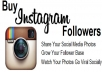 give you 21,500 INSTAGRAM followers without admin access just