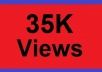 give you guaranteed 35,000+ fast youtube views