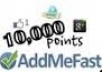 Give You 10000+ Addmefast Points ~Istant Delivery~
