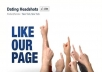 give you 500 real facebook page likes