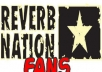 !!provide 100+ Real ReverbNation FANS!!