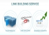 give you my &quot;Premium Link building Service&quot;