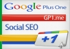 increase your 70 Google+1 vote &amp; 65 google share Which is doing by 100% real &amp; active different Account with full satisfacetion.Its only
