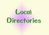 I will manually list your website or business details in 32 high PR local directories