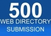 will submit your site to 500 web directories..........