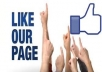 give you 125+ genuine real human facebook likes for your fanpage, website or blog!!!!!!!!!!!!