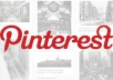 give you 200 pinterest followers with 200 repin within 24 hours