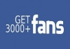give 2500 to 3000+ High Quality Real, Active Facebook Likes or Fans to your facebook fan Page, all likes deliver within 5 day !!!!!!!!!!!!!