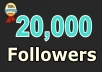 give you instant 20,000 twitter followers, no eggs, no unfollows, without admin access !!!!!!!!!!!