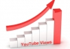 give you 22000+ youtube views, Buy 2 gigs and get 1 gig for FREE, 40 Custom Comments, 25+ likes, 50+ subscribers, 15+ favorites, all in one !!!!!!!!!!!