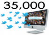 provide ★35,000★ REAL LOOKING twitter followers without admin access with fast delivery