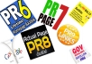 Manually Create 20  PR8 backlinks from 20 different PR 8 high authority sites [ dofollow, Panda and Penguin compatible ] + pinging