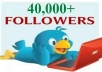 add 40000 Twitter Followers to your account