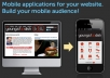 make mobile application for your website