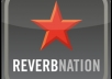 give you 7,000 [upto 8,000] Reverbnation Widget Impressions,500 [upto700] video view..........