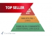 make link pyramid 1000 PR3 to PR8 profiles and 10,000 blog comments..2