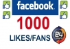 add 1000 REAL Facebook Likes, Fans to your Fan Page within 24 Hours..@