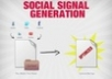 drip 50 Social Signals across genuine and trafficked FB, Twitter, and other Social Media accounts for a week and send you a full report
