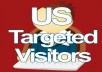 send 2100 Targeted US Visitors To Your Website