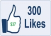 give 500+ Good Quality Permanent Facebook Likes to your facebook fan Page, all likes deliver within  hours