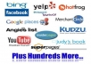 submit your business details on 150++ TOP US CITATION SITES to boost your google rank