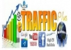 cdrive UNLIMITED genuine real traffic to your website for one month!!!!!~~@@@@