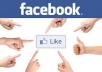 give you 400 real facebook, likes